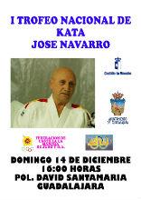 Guadalajara celebra el I Trofeo Kata de Judo José Navarro de Palencia