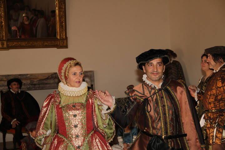 El Palacio Ducal de Pastrana vuelve al 10 de junio de 1569 en las visitas teatralizadas