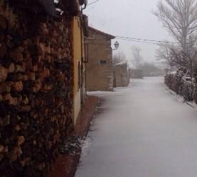 La nieve llega a Guadalajara y complica la circulación en algunas carreteras