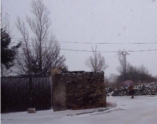 Domingo bajo cero en Guadalajara con nieve en varios puntos de la provincia