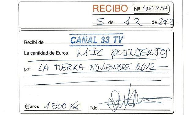 Pablo Iglesias emitía recibos sin IVA, por 1.500 euros al mes, para engordar a 'La Tuerka'
