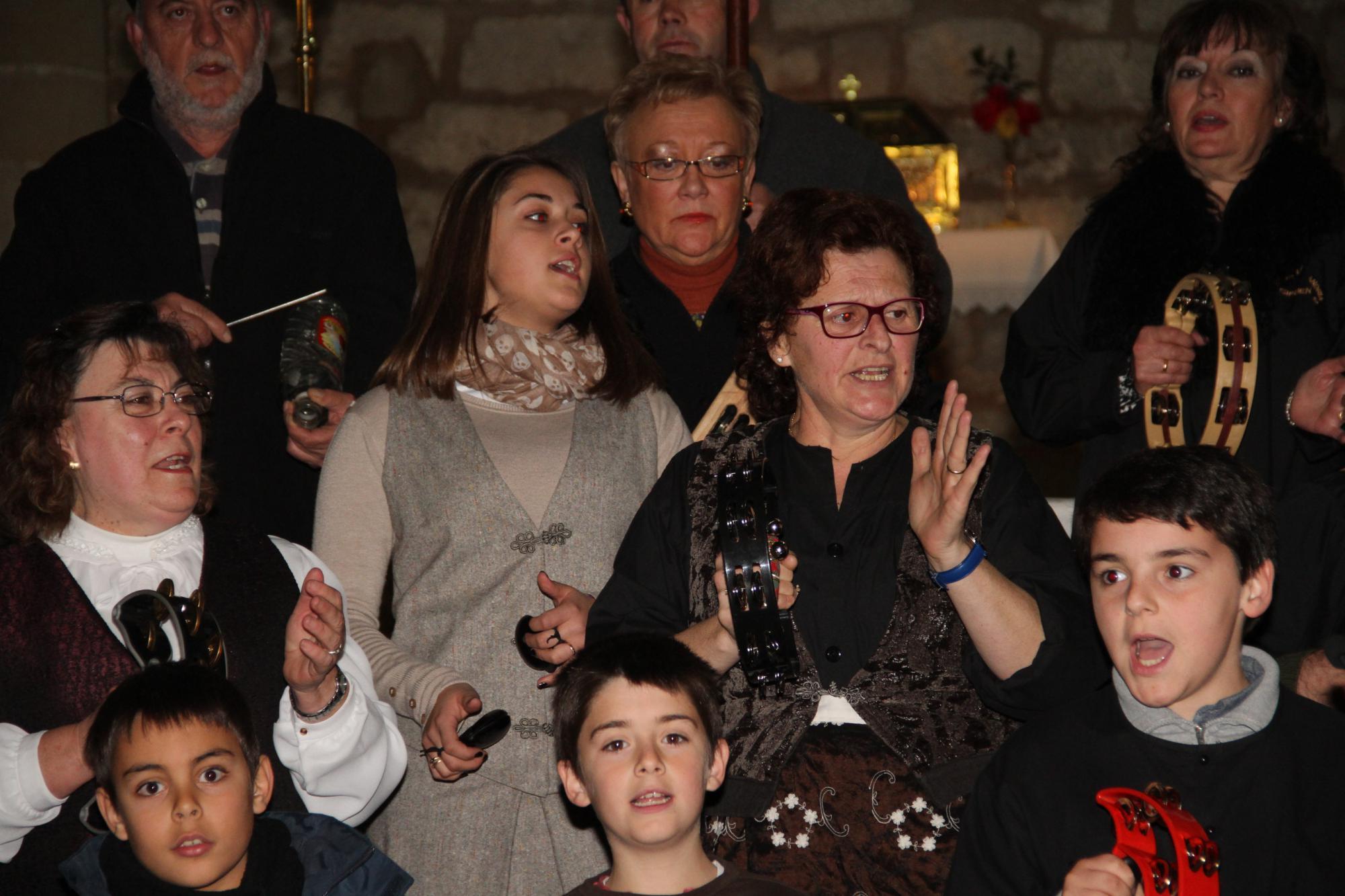 Ocho rondas alcarreñas le dan la bienvenida a la navidad en Pareja
