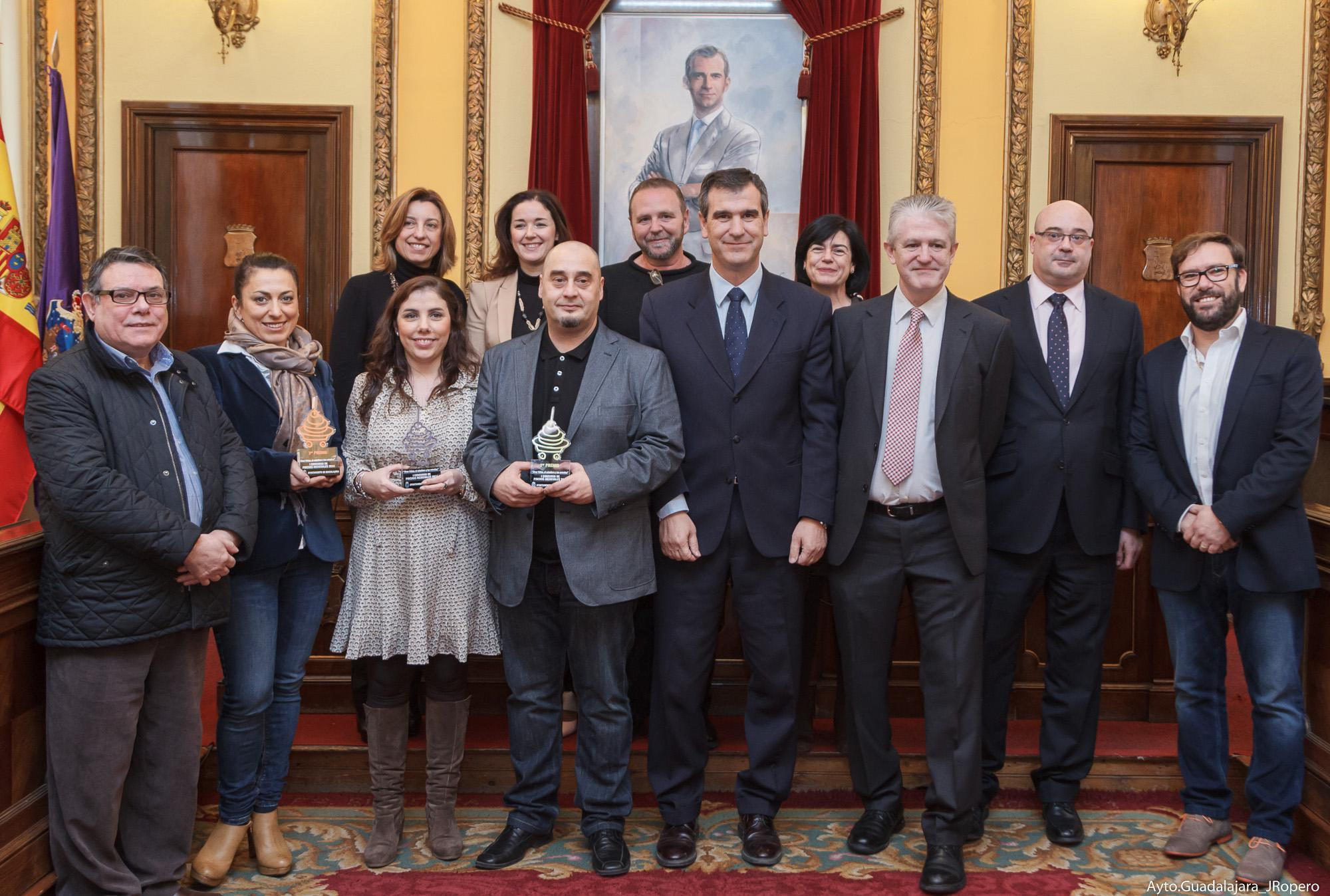 """Entregados los premios del I Concurso de Pinchos Medievales """"Alvar Fáñez, el caballero y las estrellas"""""""