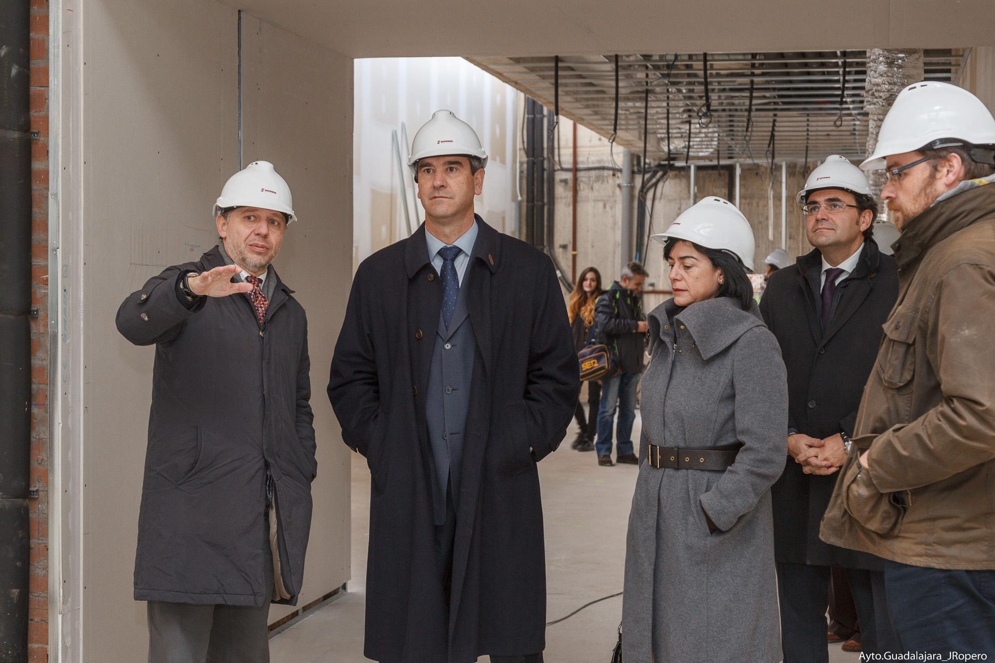 """Román: """"La construcción del Museo Sobrino supone la creación de un nuevo espacio cultural y la recuperación de un bien de interés histórico-artístico"""""""