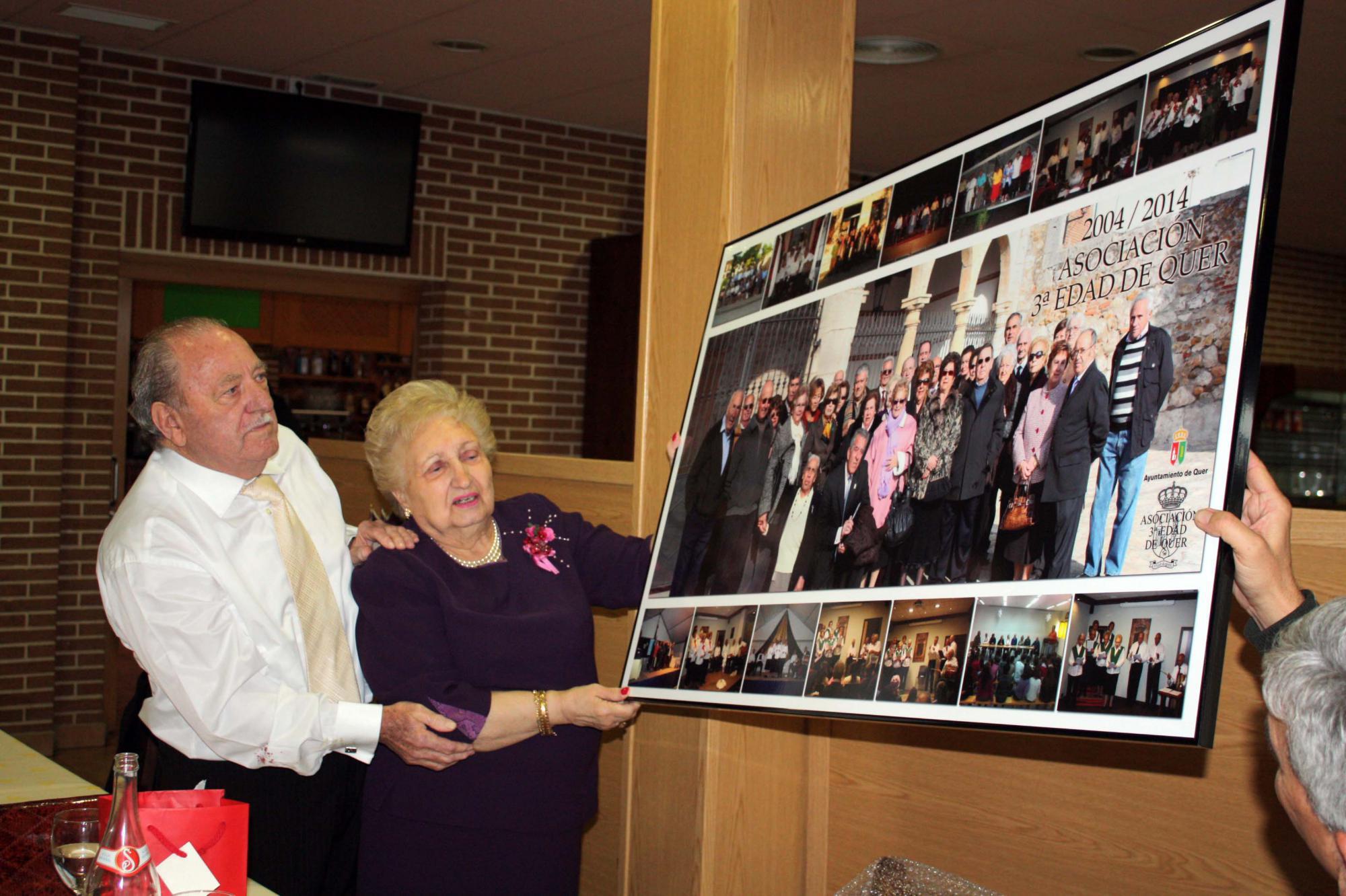La Asociación de Mayores de Quer cumplió diez años y once celebraciones