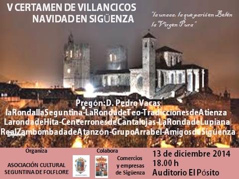 El certamen de villancicos de Sigüenza llega mañana a su quinta edición
