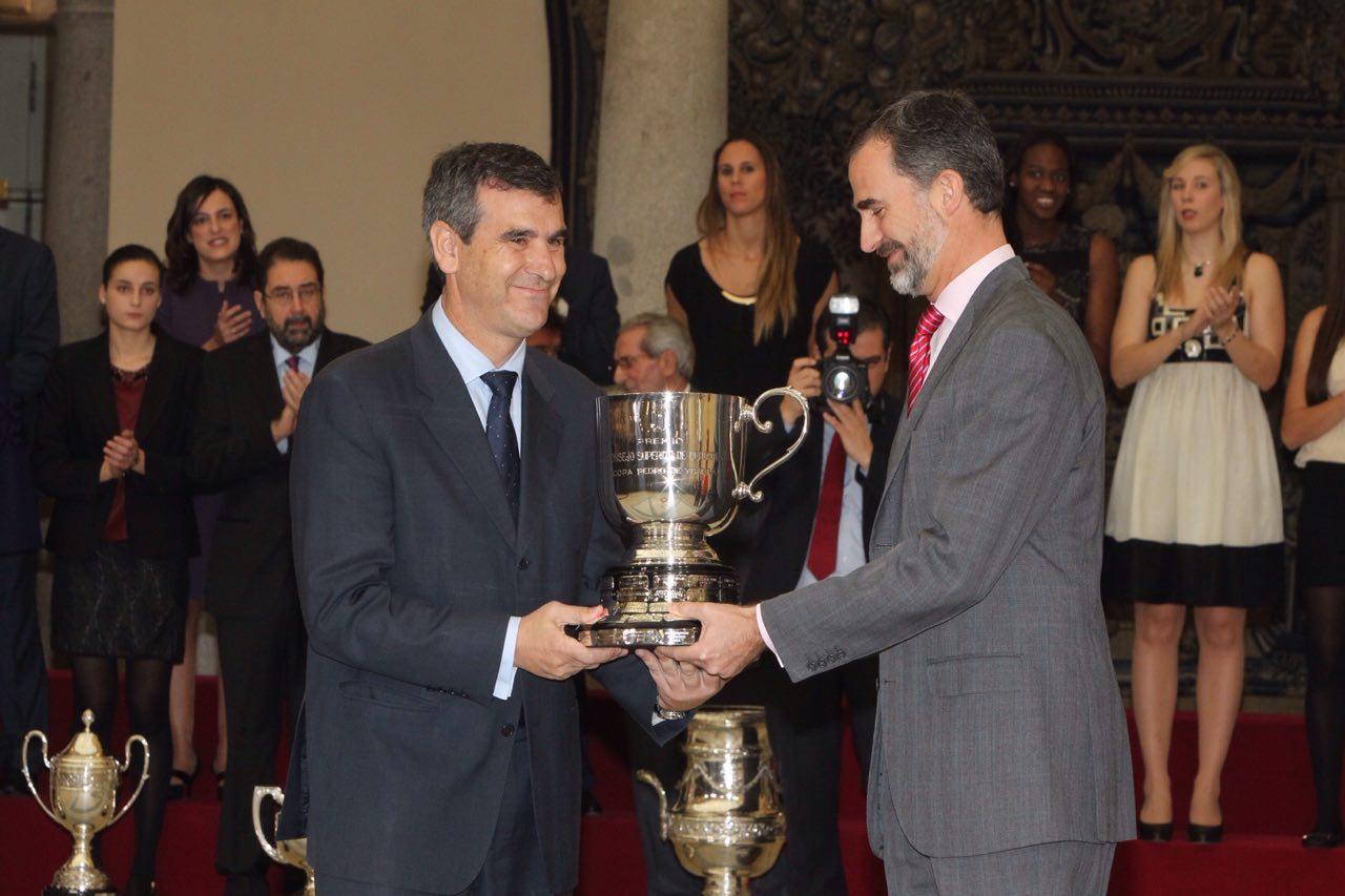 """Román: """"El premio recibido hoy es un reconocimiento a ocho años de trabajo en favor del deporte"""""""