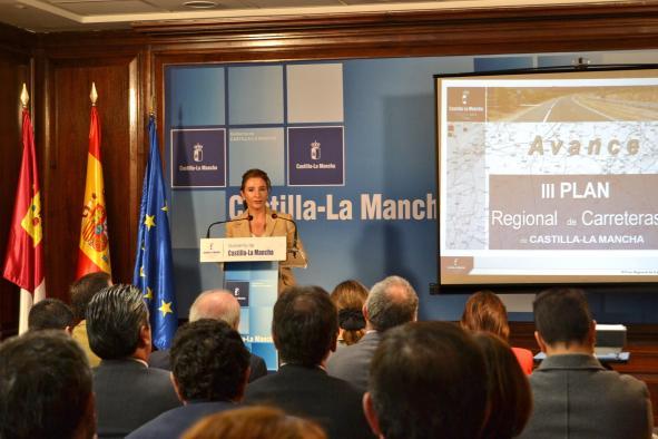 Marta García avanza que el nuevo Plan de Carreteras destinará 234 millones de euros a la provincia de Guadalajara