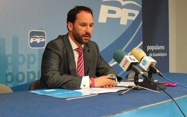 """Luis García: """" La campaña de Daniel Jiménez demuestra que no ha tenido ningún interés por las preocupaciones de los ciudadanos de Guadalajara durante más de siete años"""""""