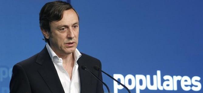 El guadalajareño Rafael Hernando, elegido como nuevo portavoz parlamentario del Partido Popular