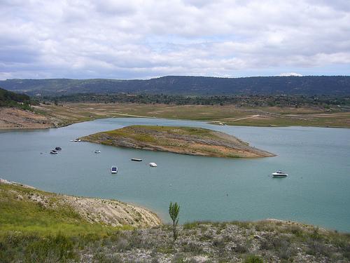 Los pantanos de cabecera del Tajo bajan 5 hectómetros y están al 21,85 %