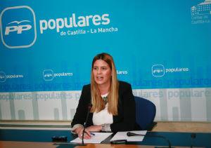 """Carolina Agudo: """"Castilla-La Mancha es líder en crecimiento económico y bajada de impuestos"""""""