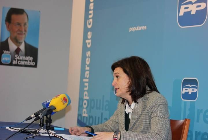 """Ana González: """"El año 2015 será de más empleo, más política social, más esperanza y más futuro"""""""