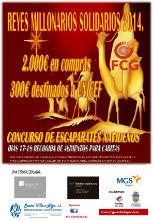 La Federación de Comercio y Servicios de Guadalajara vuelve a poner en marcha su campaña Reyes Millonarios Solidarios 2014