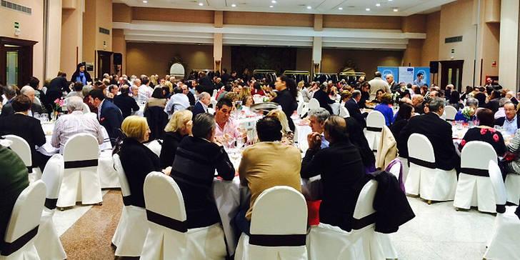 Más de 400 personas en la Comida Solidaria del PP en Guadalajara