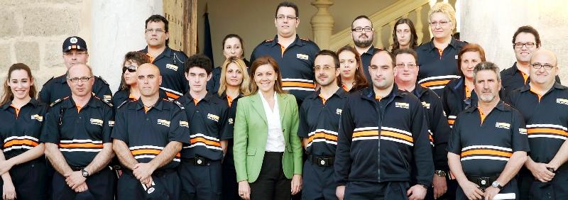 Los voluntarios de Protección Civil de la región colaboran en la campaña