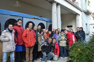 El delegado de la Junta anima a visitar el Belén de la residencia Virgen de la Salud