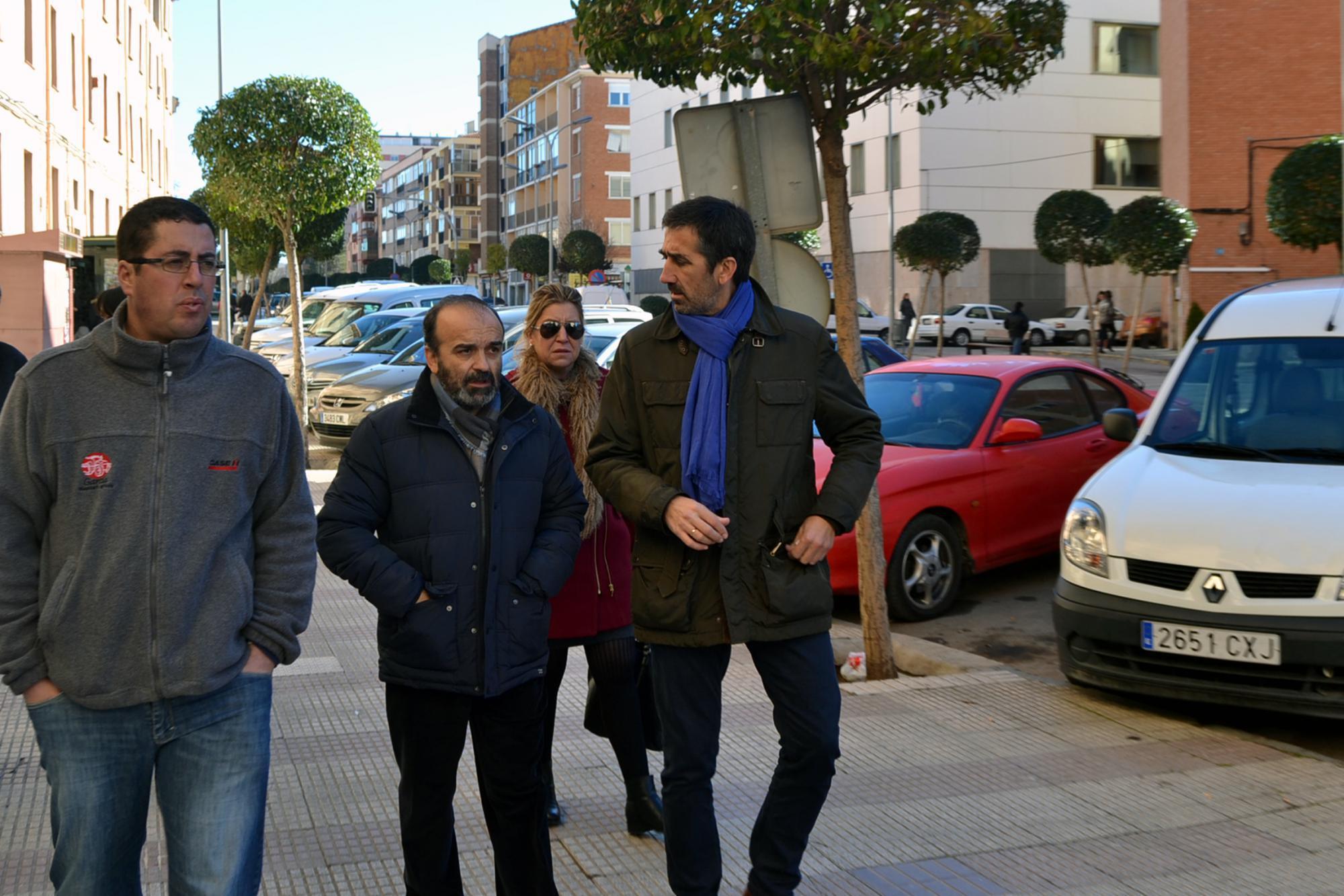 Condado destaca la importancia de las obras de remodelación de la travesía de Molina de Aragón