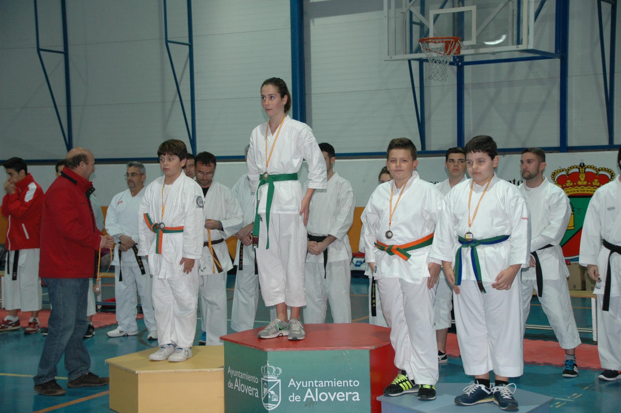 Alovera celebra el VII Torneo de Kárate de Navidad