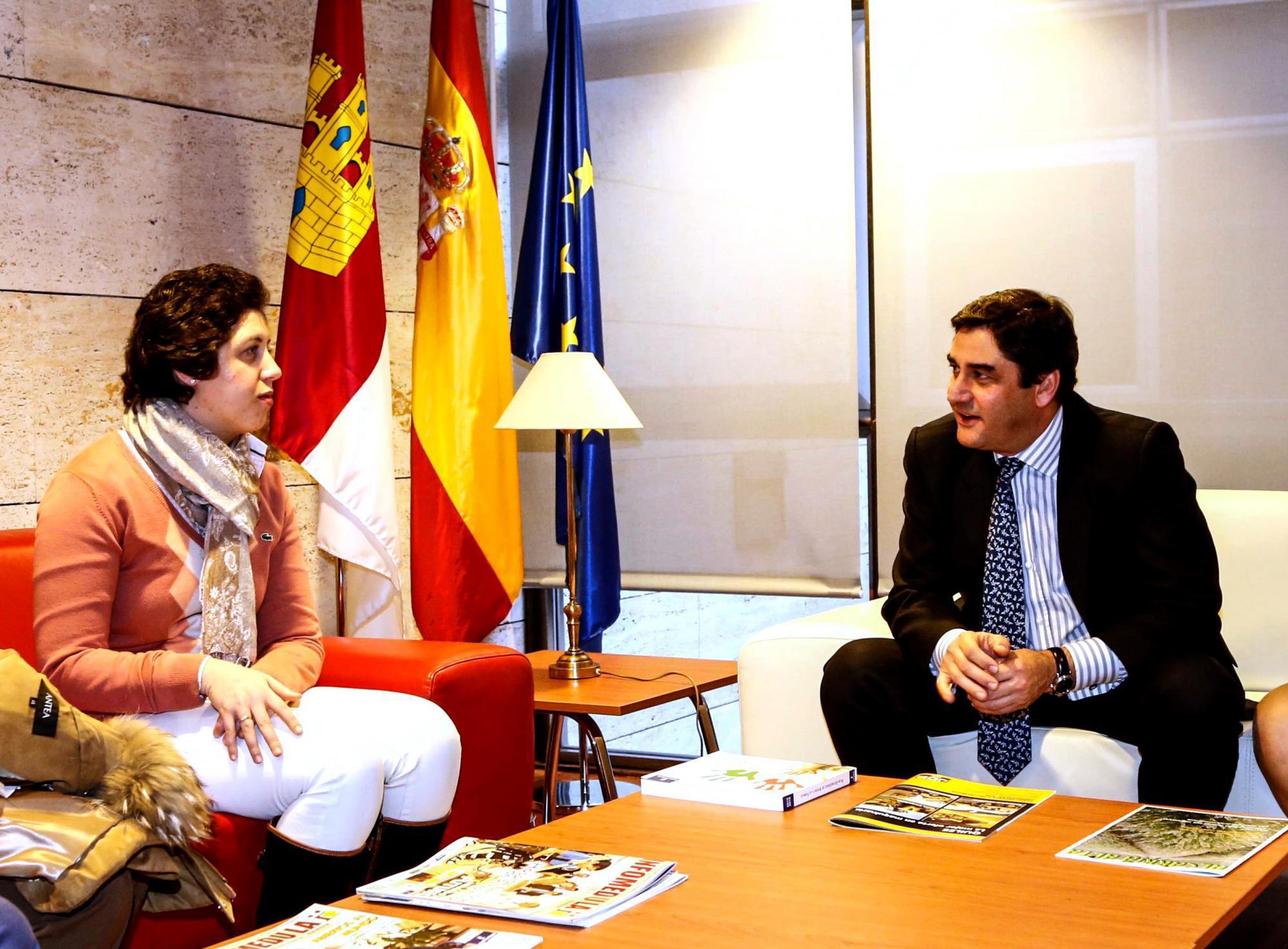 """Echániz: """"La recuperación de Ángela demuestra el alto nivel de la Sanidad de Castilla-La Mancha"""""""