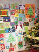 Una veintena de menores de acogida participan en el III Certamen de Felicitaciones Navideñas de Guadalajara