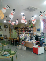 La Biblioteca de Quer intensifica su actividad durante la navidad