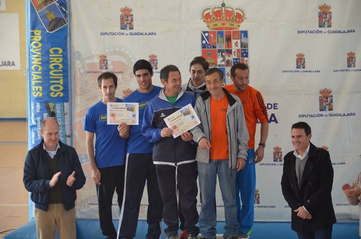 Juan Carlos Martín asiste a la entrega de Trofeos de la VIII Carrera Popular de Brihuega