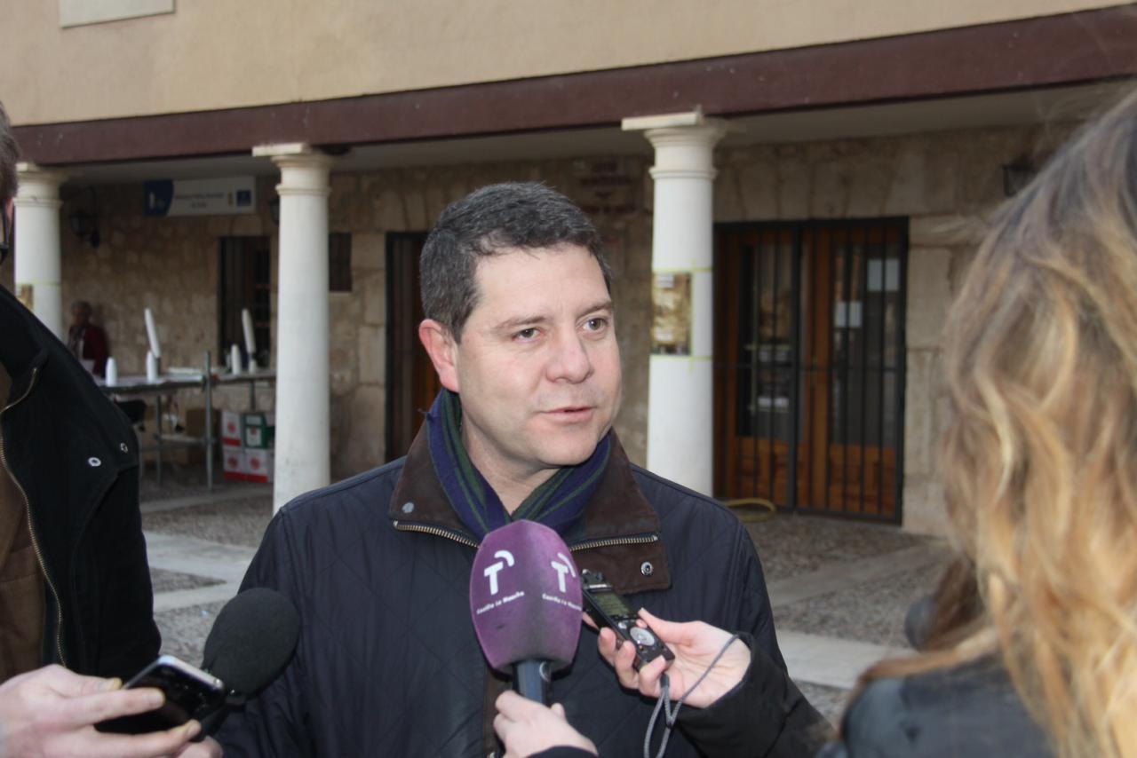 García-Page compromete la declaración de Fiesta de Interés Turístico Regional para el Certamen de Rondas de Torija