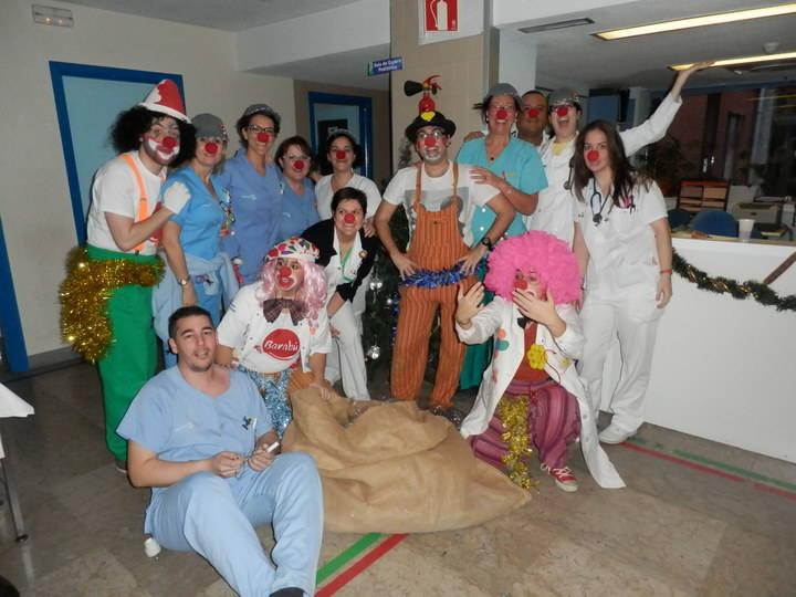 Mañana de sonrisas en el Hospital Universitario de Guadalajara