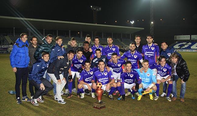 El C.D. Guadalajara cierra el 2014 con la XL edición de su Trofeo Alcarria