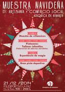 La Muestra de Artesanía y Comercio Local de Azuqueca contará con 33 participantes