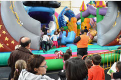 El programa navideño de Azuqueca de Henares ofrece para este fin de semana hinchables y la proyección de 'Maléfica'