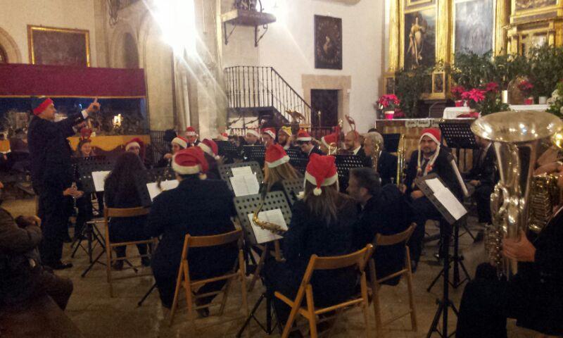 La Banda de música de Pastrana le da el pistoletazo de salida a la navidad