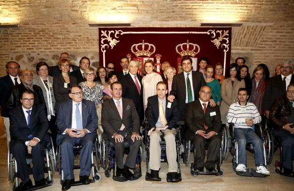 """Echániz: """"La Ley de Discapacidad es un ejemplo de la sensibilidad social del Gobierno de Cospedal"""""""
