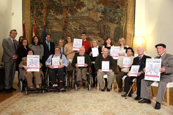 Los mayores de Castilla-La Mancha han disfrutado de 467 estancias gratuitas en residencias estas Navidades