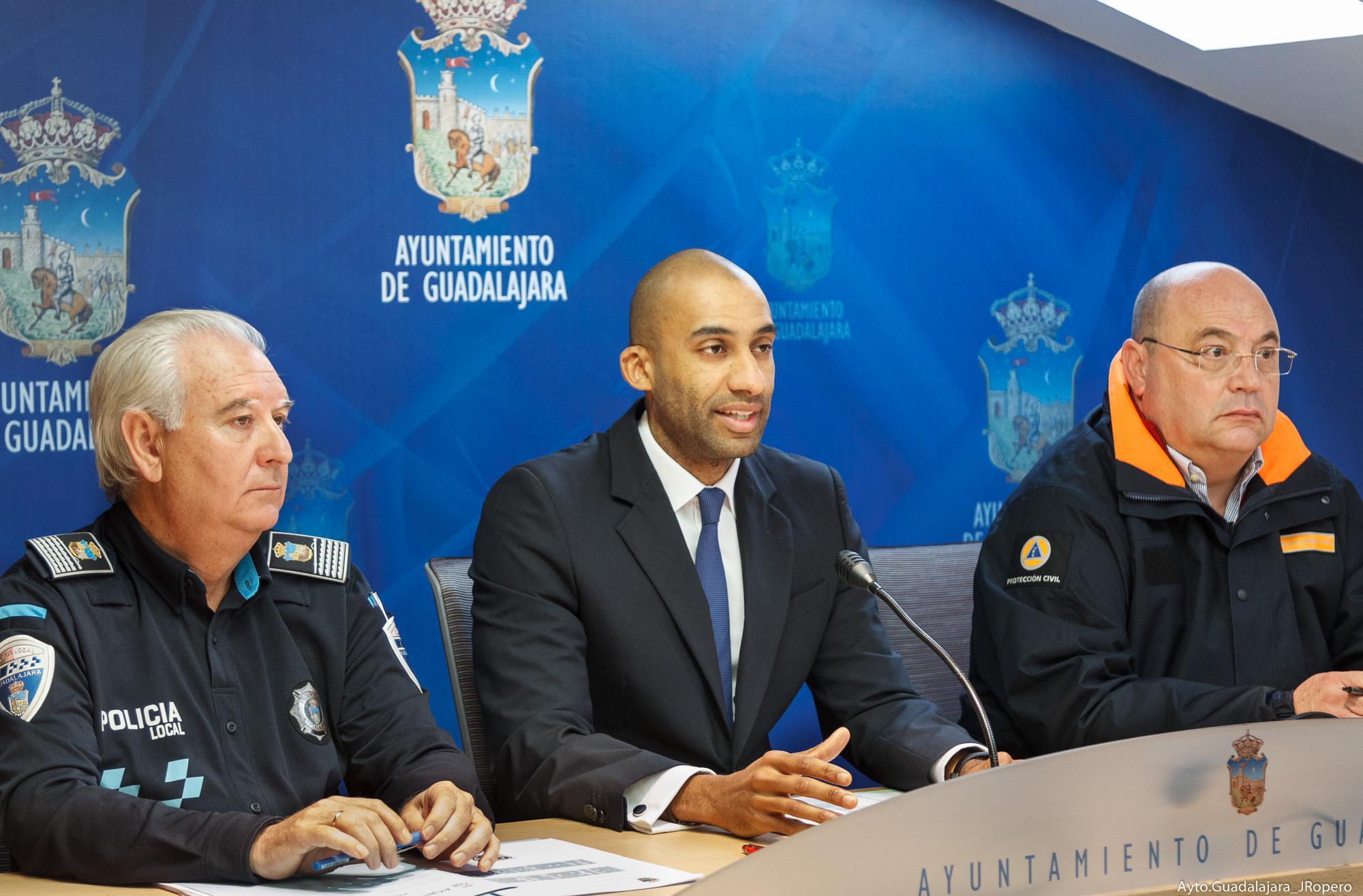 El Ayuntamiento de Guadalajara pone en marcha el Plan Especial de Seguridad y Movilidad para la Navidad