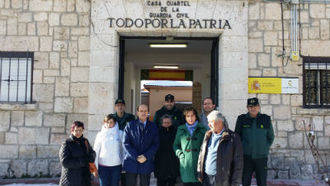 El subdelegado del Gobierno en Guadalajara se reúne con los alcaldes de la demarcación del cuartel de Brihuega