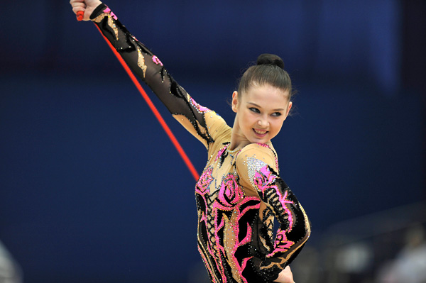 La gimnasta olímpica ucraniana Alina Maksymenko realizará varias Masterclass en Guadalajara