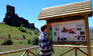 Las carreteras del Estado señalizarán el Geoparque de la Comarca de Molina-Alto Tajo como destino turístico