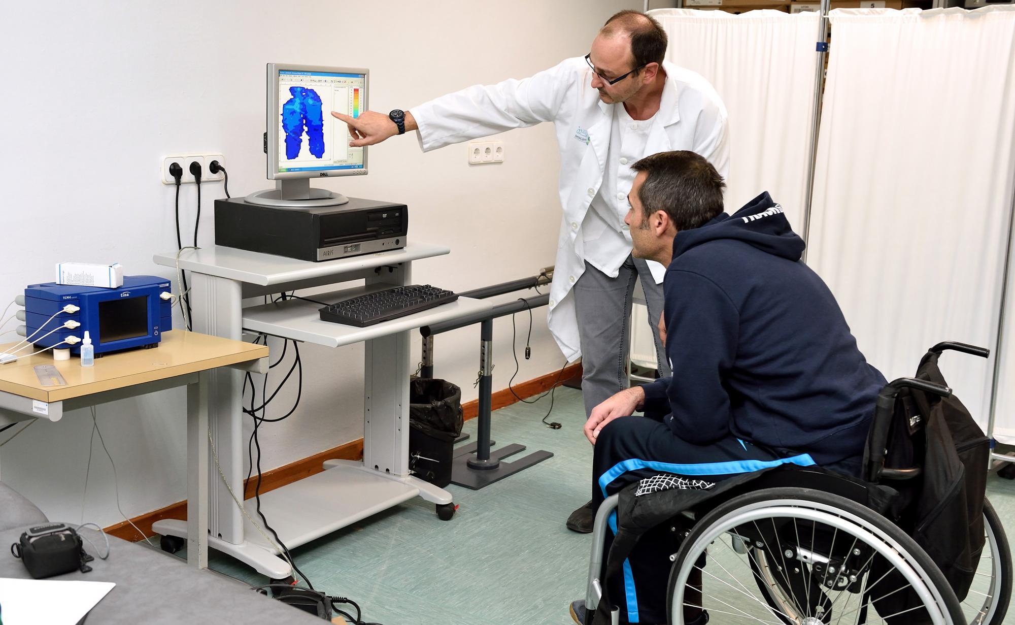Un sistema que analiza presiones permite a lesionados medulares elegir el mejor cojín para prevenir úlceras