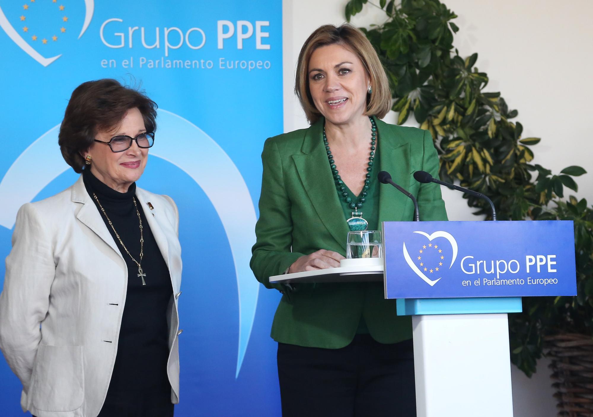 "Cospedal: ""Una legislatura más es imprescindible para situar a Castilla-La Mancha a la vanguardia de las regiones españolas"""