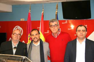 El PSOE presenta a los candidatos a las alcaldías de Alovera, El Casar y Torrejón del Rey