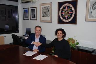 El Centro Asociado de la UNED en Guadalajara firma un convenio con el Cineclub Alcarreño