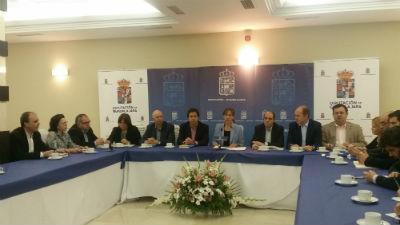 """Guarinos: """"Hoy la Diputación tiene las cuentas saneadas y se ha convertido en referente de inversión, prestación de servicios y asesoramiento"""""""