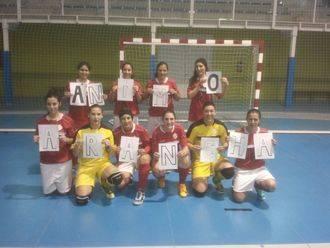 El Chiloeches homenajea a su jugadora Arancha con una gran victoria en casa frente al Simancas