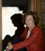 La escritora y periodista Julia Navarro, este jueves en Sigüenza