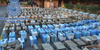 Cae una banda de narcotraficantes marroquí: cuatro detenidos en Guadalajara y toneladas de hachís intervenido