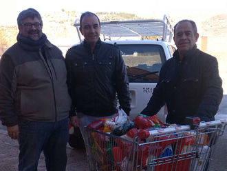 Entregados en Molina cientos de kilos de alimentos recogidos en Naviguad
