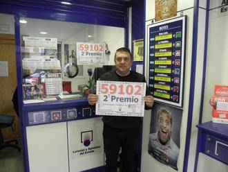 Parte del segundo premio de la Lotería Nacional cae en Guadalajara