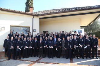 57 policías locales de la región distinguidos por su especialización en Policía Judicial